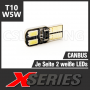 X-SERIES 4 LED SMD5630 (T10 / W5W) CANBUS Leuchtmittel