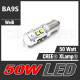 50W (BA9S) CREE HighPower LED Lampe Leuchtmittel