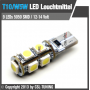 5050-SERIES 9 LED SMD5050 (T10 / W5W) CANBUS Leuchtmittel