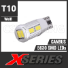 X-SERIES 10 LED SMD5630 (T10 / W5W) CANBUS Leuchtmittel